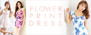 花柄ドレス特集